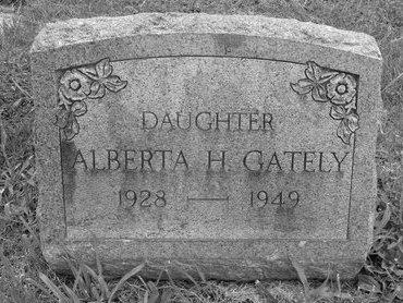 GATELY, ALBERTA H - Albany County, New York | ALBERTA H GATELY - New York Gravestone Photos
