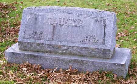 GAUGER, ANNA - Albany County, New York | ANNA GAUGER - New York Gravestone Photos