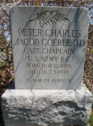 GOEREE (SERV), PETER CHARLES JACOB - Albany County, New York | PETER CHARLES JACOB GOEREE (SERV) - New York Gravestone Photos
