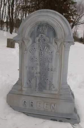 GREEN, FRANK P - Albany County, New York   FRANK P GREEN - New York Gravestone Photos