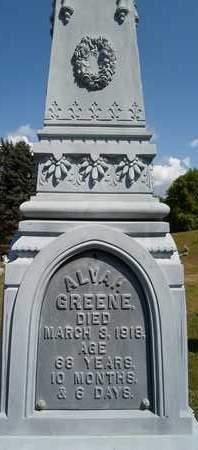 GREENE, ALVAH - Albany County, New York   ALVAH GREENE - New York Gravestone Photos