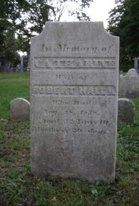HALL, CATHARINE - Albany County, New York   CATHARINE HALL - New York Gravestone Photos