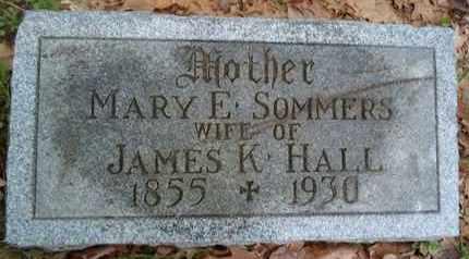HALL, MARY E - Albany County, New York | MARY E HALL - New York Gravestone Photos