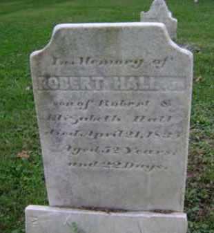 HALL, ROBERT, JR. - Albany County, New York | ROBERT, JR. HALL - New York Gravestone Photos
