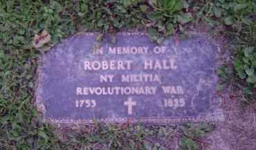 HALL, ROBERT - Albany County, New York | ROBERT HALL - New York Gravestone Photos