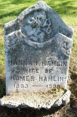 HAMLIN, HANNAH - Albany County, New York | HANNAH HAMLIN - New York Gravestone Photos