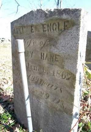 ENGLE, ANNA E - Albany County, New York | ANNA E ENGLE - New York Gravestone Photos