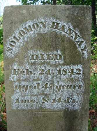 HANNAY, SOLOMON - Albany County, New York | SOLOMON HANNAY - New York Gravestone Photos