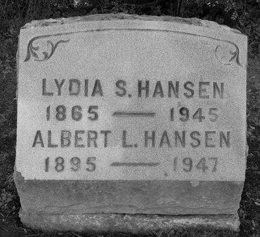 HANSEN, LYDIA S - Albany County, New York | LYDIA S HANSEN - New York Gravestone Photos