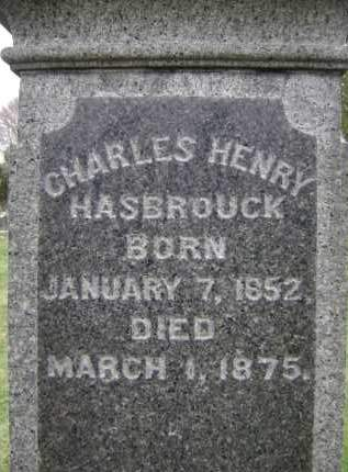HASBROUCK, CHARLES HENRY - Albany County, New York | CHARLES HENRY HASBROUCK - New York Gravestone Photos