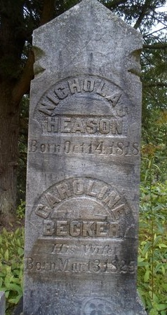 BECKER, CAROLINE - Albany County, New York | CAROLINE BECKER - New York Gravestone Photos