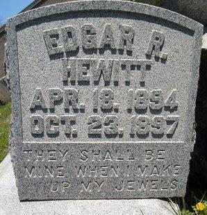 HEWITT, EDGAR R - Albany County, New York | EDGAR R HEWITT - New York Gravestone Photos