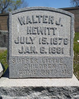 HEWITT, WALTER J - Albany County, New York   WALTER J HEWITT - New York Gravestone Photos