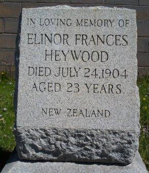 HEYWOOD, ELINOR FRANCES - Albany County, New York | ELINOR FRANCES HEYWOOD - New York Gravestone Photos