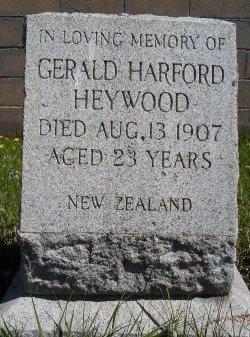 HEYWOOD, GERALD HARFORD - Albany County, New York | GERALD HARFORD HEYWOOD - New York Gravestone Photos