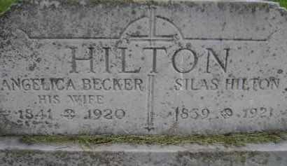 HILTON, SILAS - Albany County, New York | SILAS HILTON - New York Gravestone Photos