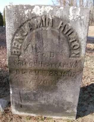 HILTON, BENJAMIN - Albany County, New York | BENJAMIN HILTON - New York Gravestone Photos