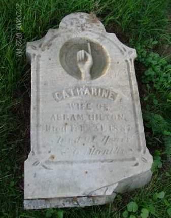 HILTON, CATHARINE - Albany County, New York | CATHARINE HILTON - New York Gravestone Photos