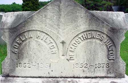 HILTON, DEMOSTHENES - Albany County, New York | DEMOSTHENES HILTON - New York Gravestone Photos