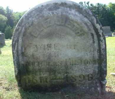 HILTON, ELIZABETH - Albany County, New York | ELIZABETH HILTON - New York Gravestone Photos