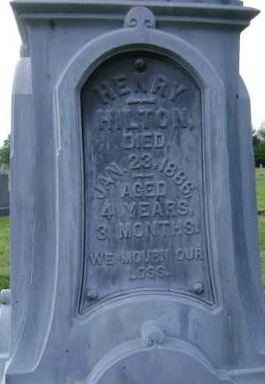 HILTON, HENRY - Albany County, New York | HENRY HILTON - New York Gravestone Photos