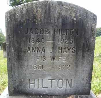 HILTON, ANNA J - Albany County, New York | ANNA J HILTON - New York Gravestone Photos