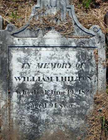 HILTON, WILLIAM I - Albany County, New York | WILLIAM I HILTON - New York Gravestone Photos