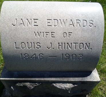 EDWARDS, JANE - Albany County, New York | JANE EDWARDS - New York Gravestone Photos