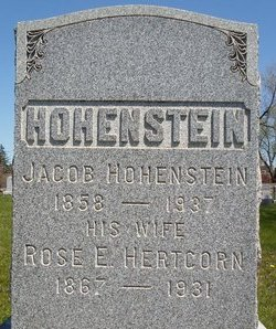 HOHENSTEIN, ROSE E - Albany County, New York | ROSE E HOHENSTEIN - New York Gravestone Photos