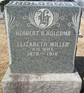 HOLCOMB, ELIZABETH - Albany County, New York | ELIZABETH HOLCOMB - New York Gravestone Photos