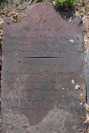 HOOGHKIRK, ABRAHAM - Albany County, New York | ABRAHAM HOOGHKIRK - New York Gravestone Photos