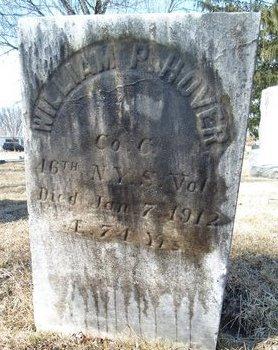 HOVER (SA), WILLIAM P - Albany County, New York | WILLIAM P HOVER (SA) - New York Gravestone Photos