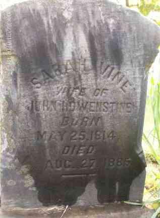 VINE HOWENSTINE, SARAH - Albany County, New York | SARAH VINE HOWENSTINE - New York Gravestone Photos