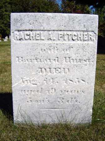 PITCHER, RACHEL A - Albany County, New York | RACHEL A PITCHER - New York Gravestone Photos