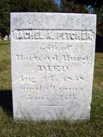 PITCHER, RACHEL A - Albany County, New York   RACHEL A PITCHER - New York Gravestone Photos