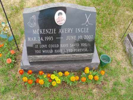 INGLE, MCKENZIE AVERY - Albany County, New York | MCKENZIE AVERY INGLE - New York Gravestone Photos