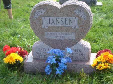 BIVENS JANSEN, FLORENCE - Albany County, New York | FLORENCE BIVENS JANSEN - New York Gravestone Photos