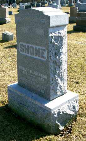 SHONE JOHNSON, ANNETTE B. - Albany County, New York | ANNETTE B. SHONE JOHNSON - New York Gravestone Photos