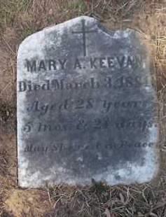 KEEVAN, MARY A - Albany County, New York   MARY A KEEVAN - New York Gravestone Photos