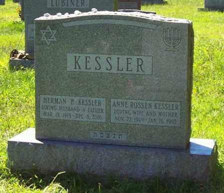 KESSLER, ANNE - Albany County, New York | ANNE KESSLER - New York Gravestone Photos