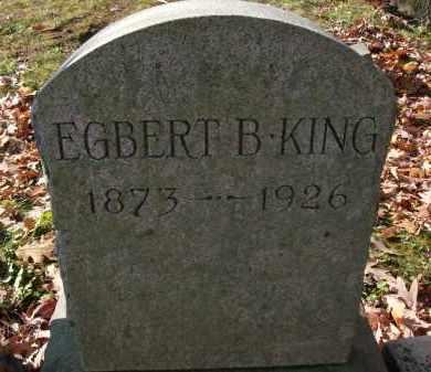 KING, EGBERT B - Albany County, New York | EGBERT B KING - New York Gravestone Photos