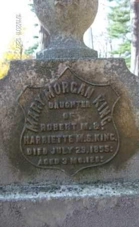 KING, MARY MORGAN - Albany County, New York | MARY MORGAN KING - New York Gravestone Photos