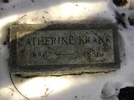 KRANK, CATHERINE - Albany County, New York | CATHERINE KRANK - New York Gravestone Photos
