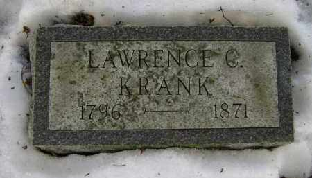 KRANK, LAWRENCE C - Albany County, New York   LAWRENCE C KRANK - New York Gravestone Photos