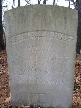 LAINHART, HENRY S - Albany County, New York   HENRY S LAINHART - New York Gravestone Photos