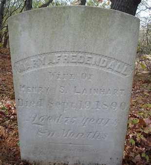 FREDENDALL, MARY A - Albany County, New York   MARY A FREDENDALL - New York Gravestone Photos