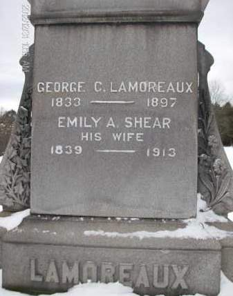 LAMOREAUX, EMILY A - Albany County, New York   EMILY A LAMOREAUX - New York Gravestone Photos