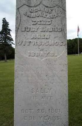 LAMOREAUX, SALLY - Albany County, New York   SALLY LAMOREAUX - New York Gravestone Photos