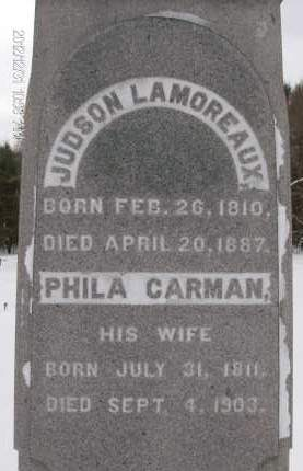 LAMOREAUX, PHILA - Albany County, New York   PHILA LAMOREAUX - New York Gravestone Photos