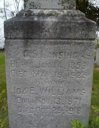WILLIAMS, IDA E - Albany County, New York | IDA E WILLIAMS - New York Gravestone Photos